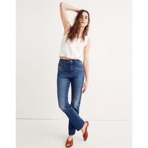 Madewell The High-Rise Slim BoyJean